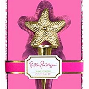 Lilly Pulitzer wine stopper featured in Sea life